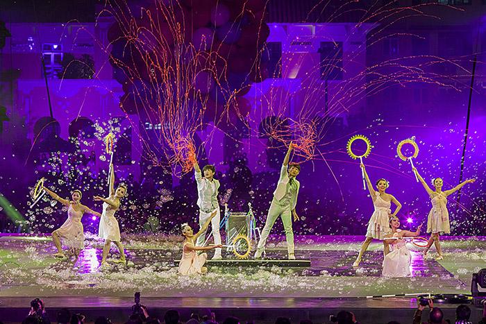 冠軍-黃凱豐-台灣來的泡泡表演